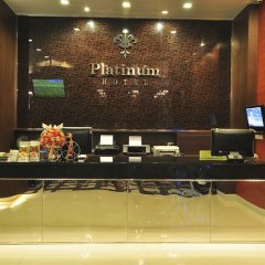 Platinum Hotel вестибюль