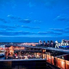Рэдиссон Блу Шереметьево (Radisson Blu Sheremetyevo Hotel) вид на город