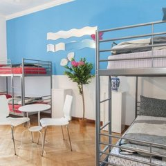Central Hostel Milano комната для гостей