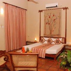 Отель Sigiriya Village 4* Номер Делюкс с различными типами кроватей