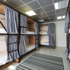 Хостел Артист на Казанском Кровать в общем номере с двухъярусной кроватью фото 3