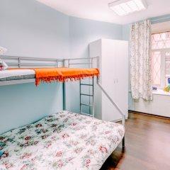 Хостел Welcome Стандартный семейный номер с различными типами кроватей