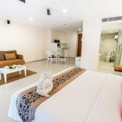 Andaman Beach Suites Hotel 4* Люкс повышенной комфортности разные типы кроватей фото 2