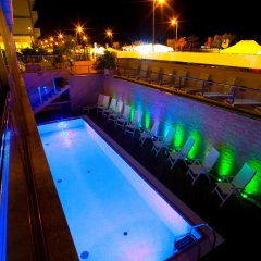 Отель Terminal Palace & Spa Римини бассейн фото 3