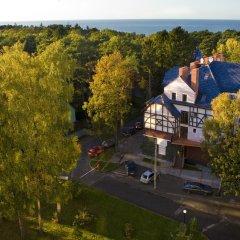 Отель Люмьер Светлогорск приотельная территория