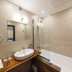 Гостиница Голубая Лагуна Улучшенный номер разные типы кроватей фото 14
