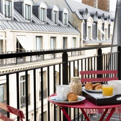 Отель Helios Opera Париж балкон