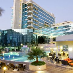 Отель Millennium Dubai Airport ОАЭ, Дубай - 3 отзыва об отеле, цены и фото номеров - забронировать отель Millennium Dubai Airport онлайн вид на фасад фото 5