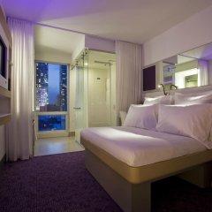 Отель Yotel New York at Times Square 3* Номер Делюкс с различными типами кроватей фото 2
