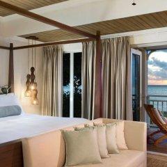 Отель The St. Regis Mauritius Resort 5* Люкс Beachfront St. Regis с различными типами кроватей
