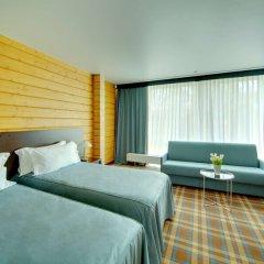 Гостиница LES Art Resort Люкс Panorama с различными типами кроватей фото 3