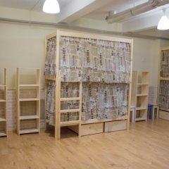 Хостел Бель Этаж Кровать в мужском общем номере с двухъярусными кроватями фото 7