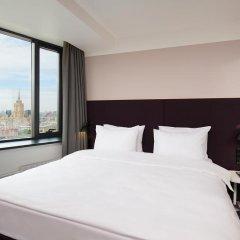 AZIMUT Отель Смоленская Москва 4* Номер SMART Standard на клубном этаже с различными типами кроватей фото 4