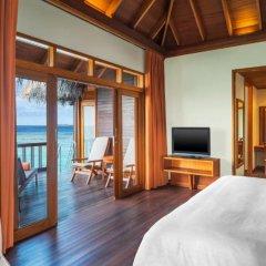 Отель Sheraton Maldives Full Moon Resort & Spa 5* Вилла с различными типами кроватей фото 2