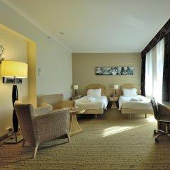 Отель Hilton Milan 4* Представительский люкс с различными типами кроватей фото 2