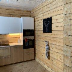 База Отдыха Forrest Lodge Karelia Улучшенный шале с разными типами кроватей фото 31