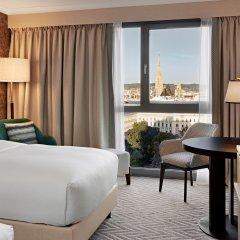 Отель Hilton Vienna Австрия, Вена - 13 отзывов об отеле, цены и фото номеров - забронировать отель Hilton Vienna онлайн комната для гостей фото 16