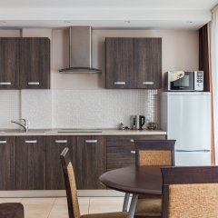 Гостиница Комплекс апартаментов Комфорт Улучшенные апартаменты с различными типами кроватей фото 40