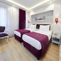 Отель Albinas Old City Стандартный семейный номер разные типы кроватей фото 4