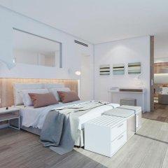 Отель Aparthotel Ponent Mar Люкс Делюкс с различными типами кроватей