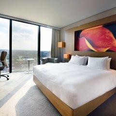 Отель Hilton Manchester Deansgate Манчестер комната для гостей фото 4