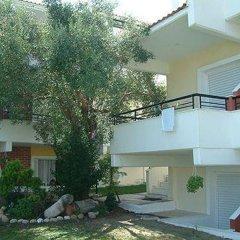 Отель Kapsohora Inn Hotel Греция, Пефкохори - отзывы, цены и фото номеров - забронировать отель Kapsohora Inn Hotel онлайн вид на фасад фото 3