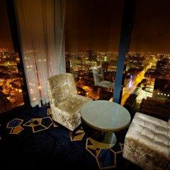 Отель Hilton Manchester Deansgate Манчестер гостиничный бар