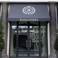 Отель D Angleterre Копенгаген вид на фасад фото 2