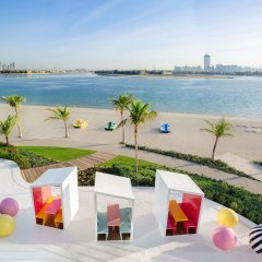 Отель W Dubai The Palm Дубай пляж