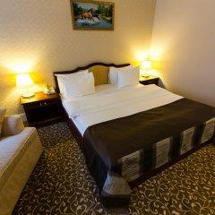 Гостиница Новомосковская комната для гостей фото 8