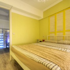 Гостиница Двухуровневый Лофт на Автозаводской / Lucky Star Апартаменты с двуспальной кроватью фото 22