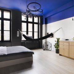 Отель Bike Up Aparthotel 3* Студия Делюкс с различными типами кроватей фото 4