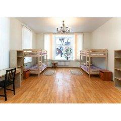 Хостел Дом Охотника Кровать в общем номере двухъярусные кровати фото 5