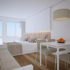 Отель Aparthotel Ponent Mar Студия комфорт с различными типами кроватей фото 3