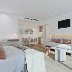 Отель Aparthotel Ponent Mar Студия премиум с различными типами кроватей
