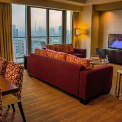 Отель Swissotel Living Al Ghurair Dubai Номер Премьер с двуспальной кроватью