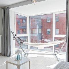 Отель NORDBYHUS Apartamenty Chmielna Park балкон
