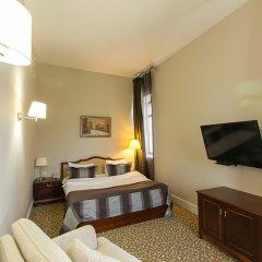 Гостиница Новомосковская комната для гостей фото 7