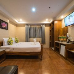 Отель VITS Patong Dynasty 3* Улучшенная студия разные типы кроватей