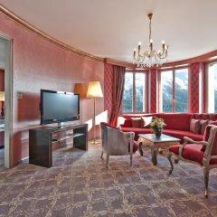 Carlton Hotel St Moritz 5* Люкс повышенной комфортности с различными типами кроватей фото 6