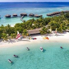 Отель Sheraton Maldives Full Moon Resort & Spa 5* Коттедж Beach front с различными типами кроватей