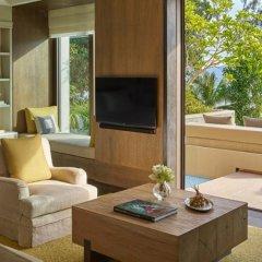 Отель Rosewood Phuket 5* Коттедж с различными типами кроватей фото 2