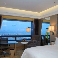 Boyue Shanghai Hongqiao Airport Hotel комната для гостей