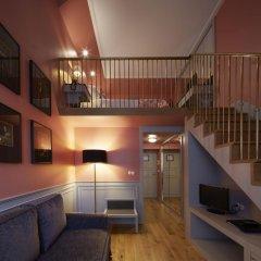 Grande Hotel do Porto 3* Стандартный семейный номер с двуспальной кроватью фото 4
