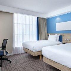 Отель Hampton by Hilton Glasgow Central 3* Стандартный номер с различными типами кроватей фото 2