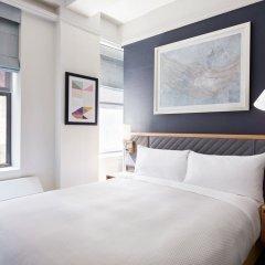 Отель Club Quarters Midtown -Times Square 4* Номер Club с различными типами кроватей фото 2