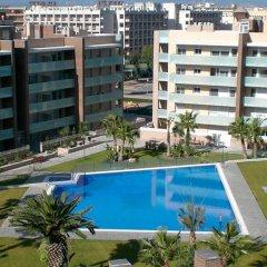 Отель UHC Spa Aqquaria Family Complex Испания, Салоу - 2 отзыва об отеле, цены и фото номеров - забронировать отель UHC Spa Aqquaria Family Complex онлайн бассейн фото 4