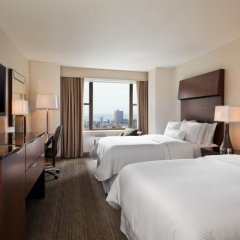 Отель Westin New York Grand Central 4* Номер Делюкс с 2 отдельными кроватями