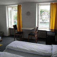Отель KRONELIMMATQUAI Швейцария, Цюрих - 1 отзыв об отеле, цены и фото номеров - забронировать отель KRONELIMMATQUAI онлайн комната для гостей фото 2