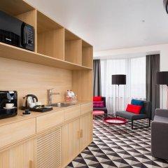 AZIMUT Отель Смоленская Москва 4* Апартаменты SMART с различными типами кроватей фото 2